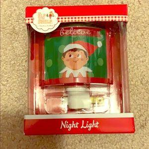 Elf on the shelf boy nightlight new